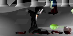 Dracula vs Zombies