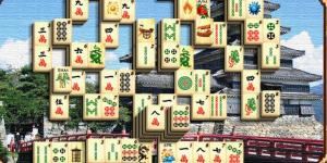 Mahjong - Castle on water